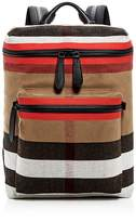 Burberry Donny Canvas Check Backpack