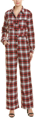 Emory Park Plaid Jumpsuit