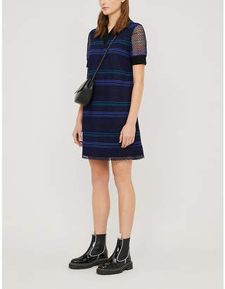 Ted Baker Striped woven mini dress