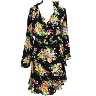 Rixo Black Silk Dresses