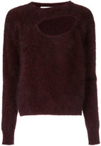 CHRISTOPHER ESBER asymmetric cut out sweater