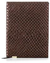 Brahmin Bronze Java Leather Journal
