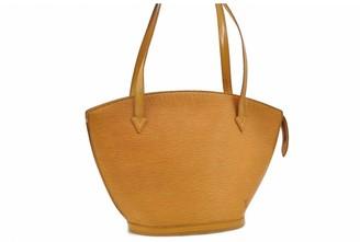Louis Vuitton Saint Jacques Vintage Yellow Cloth Handbags