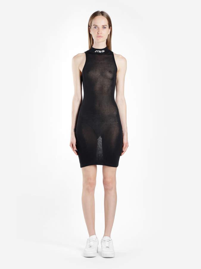 10d9f80e05 Sleeveless Turtleneck Dress - ShopStyle