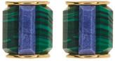 Botkier Mixed Stone Stud Earrings
