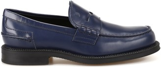Tod's Logo Penny Loafers