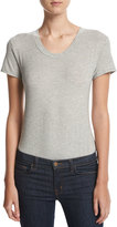 Little Black Bodysuit T-Shirt Jersey Bodysuit, Gray