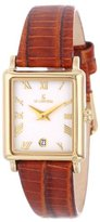 Le Château Women's 2200L_WHT Roman Numerals and Date Watch