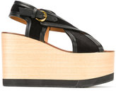 Etoile Isabel Marant Isabel Marant - Étoile Zlova sandals - women - Calf Leather/Leather/Calf Suede/rubber - 39