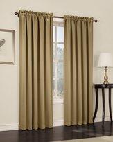 Sun Zero Barrow Room Darkening Curtain Panel, 54 by 63-Inch, Gold