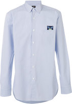 Fendi Bag Bugs embroidered patch shirt