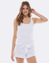 Deshabille White Night Short
