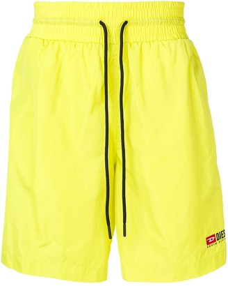 Diesel Nylon Shorts With Contrasting Bands