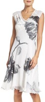 Komarov Women's Chiffon A-Line Dress
