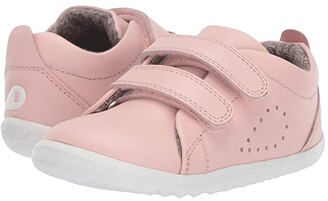Bobux Step Up Grass Court (Infant/Toddler) (Seashell Pink) Girl's Shoes