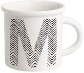 Ilaria.i Letter M Porcelain Mug