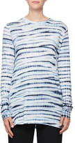 Proenza Schouler Space-Dye Crewneck Cotton Top