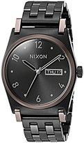 Nixon Women's A9542231-00 Jane Analog Display Japanese Quartz Black Watch