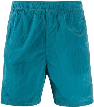 Stone Island Logo Swim Shorts
