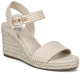 LifeStride Tango Stripe Print Espadrille Wedge Sandal - Wide Width Available