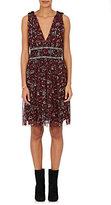 Etoile Isabel Marant Women's Balzan Floral Silk Dress