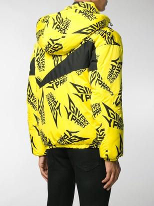 Givenchy Logo Print Puffer Jacket