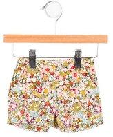 Bonpoint Girls' Floral Print Mini Shorts