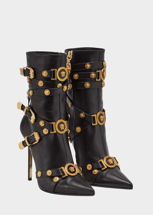 Versace High-heel Tribute Boots