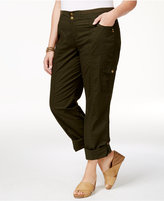 Style&Co. Style & Co Plus Size Convertible Pants, Created for Macy's