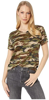 Sanctuary The Perfect T-Shirt (Little Hero Camo) Women's Clothing