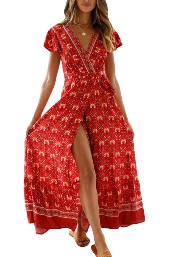 d3a7d75ec9 Bohemians Red Dresses - ShopStyle Canada