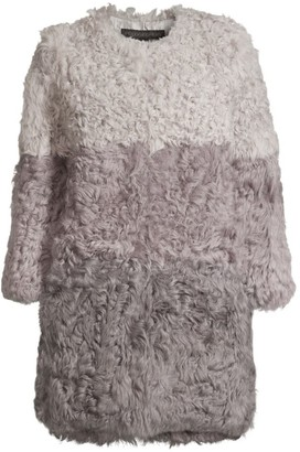 Pologeorgis Tri-Tone Kalgan Lamb Fur Jacket