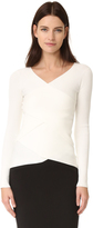 Bailey 44 Bailey44 Reversible Ribbed Crossover Sweater