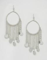 Asos Festival Coin & Tassel Earrings