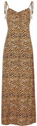 Vix Paula Hermanny V I X Paula Hermanny Tiger-print Maxi Dress