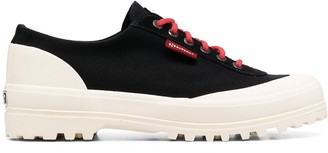 Superga Two-Tone Low-Top Sneakers