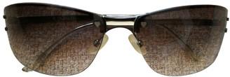 Christian Dior Abstract Grey Plastic Sunglasses
