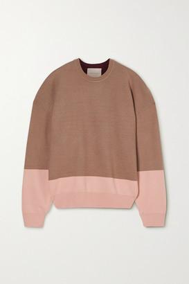 Roksanda Karuo Color-block Knitted Sweater - Brown