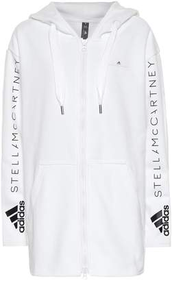 adidas by Stella McCartney Oversized cotton hoodie