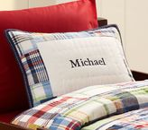 Pottery Barn Kids Madras Quilted Sham