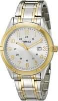 Timex Men's TW2P765009J City Collection Analog Display Quartz Two Tone Watch