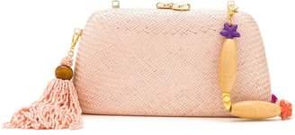 Serpui Marie straw shoulder bag