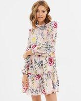 Miss Selfridge Burnout Smock Dress