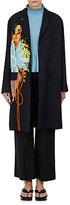 Dries Van Noten Women's Rolt Graphic Jacquard Coat-Black