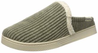 Dearfoams Women's Corduroy Sneaker Clog Slipper