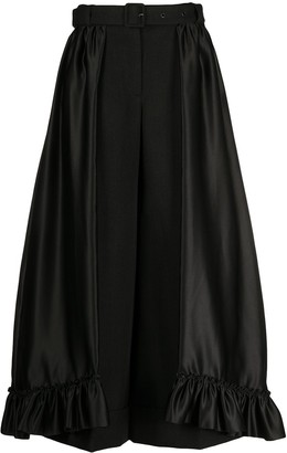 Simone Rocha Skirt Overlay Cropped Trousers
