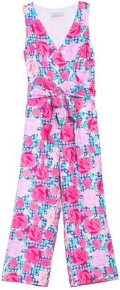 Vineyard Vines Run for the Roses Sleeveless Jumpsuit