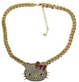 Hello Kitty Chunky Necklace - Gold