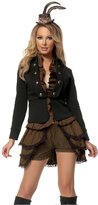 Mystery House Women's Plus-Size Steampunk Lady Deluxe