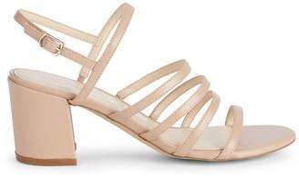 Nine West Unique Faux Leather Slingback Sandals